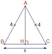Dimension garage formule de l aire d un triangle isoc le for Garage formule m
